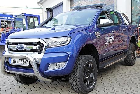 2016 Ford Ranger >> THW OV Dippoldiswalde: PKW OV